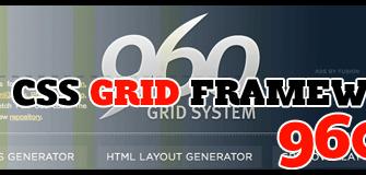 [CSS Framework] 960.gs Grid System มาลองใช้กริดดีไซน์หน้าเว็บไซด์กัน!!