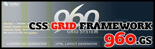d11 960gs css grid framework