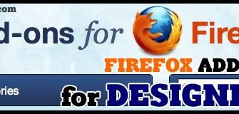 [Webdesign Tools] Must-have Firefox Add-ons ปลั๊กอินเด็ด ๆ สำหรับเว็บดีไซน์เนอร์!!