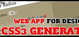 [Free Tool] CSS3 Generator ตัวช่วยสร้างโค้ด CSS3 แบบรวดเร็ว!!