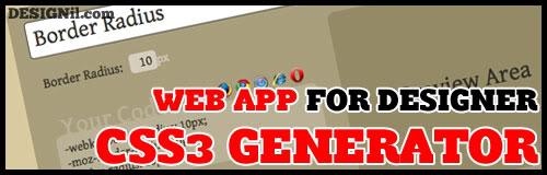 d23 web app css3 generator