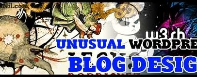 d24 unusual blogdesign