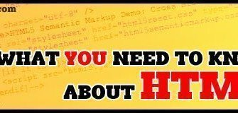 [HTML5 Tutorial] ทุกอย่างที่คุณควรรู้เกี่ยวกับ HTML5 !! (ตอนที่ 1)