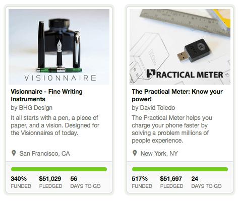 ตัวอย่างโปรเจคระดมทุน บน Kickstarter