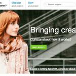 หน้าเว็บไซต์ Kickstarter: Crowd Funding ที่มาแรงที่สุด