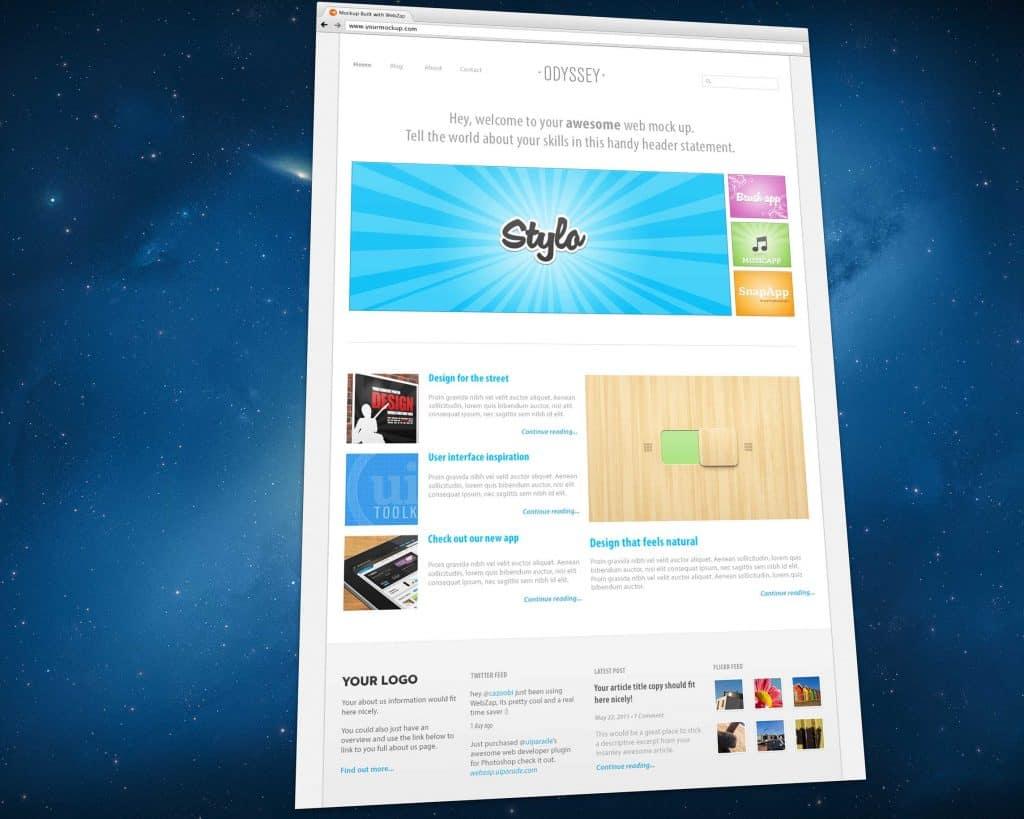 ตัวอย่างผลงานจาก WebZap: Photoshop Plugin