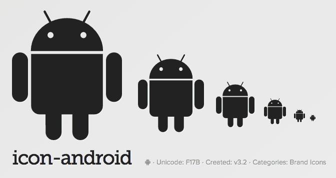 ตัวอย่าง Icon Font ของ Font Awesome - ย่อขยายยังไงก็ไม่แตก