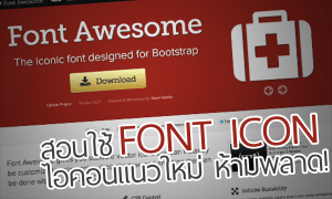 icon font big