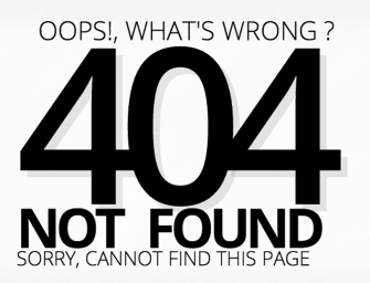 [FREE CODE] แจกฟรี หน้า 404 Not Found สวย ๆ เขียนด้วย CSS3 Animation !!