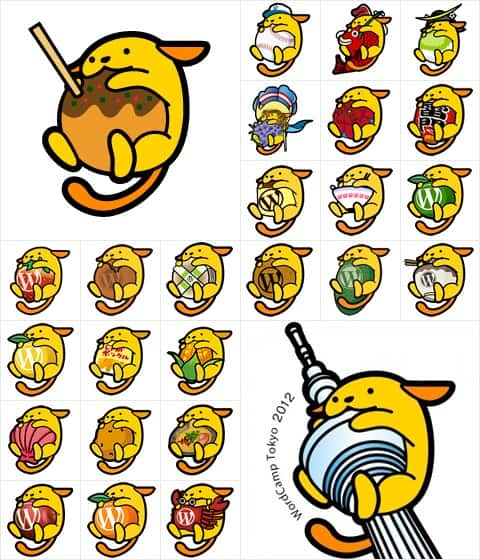 Wapuu Collection WordPress