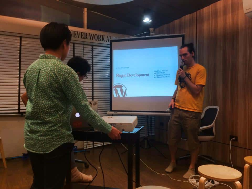 WordPress Meetup Thailand 3 Plugin Development