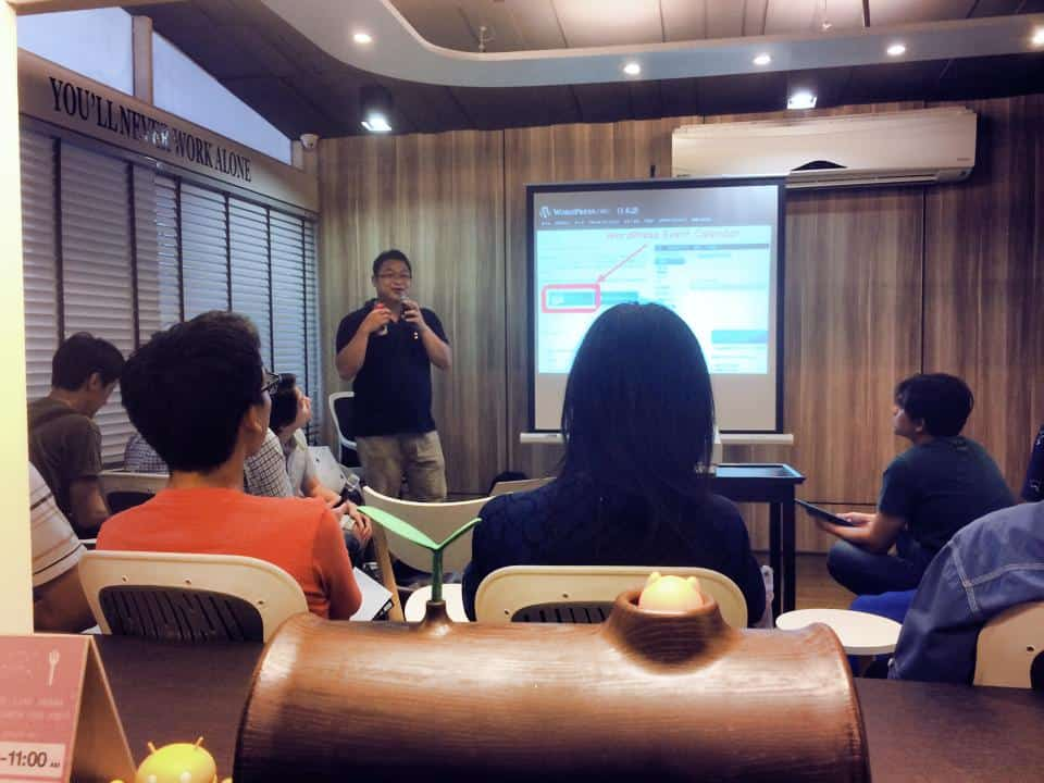 WordPress Meetup Thailand พี่เม่น