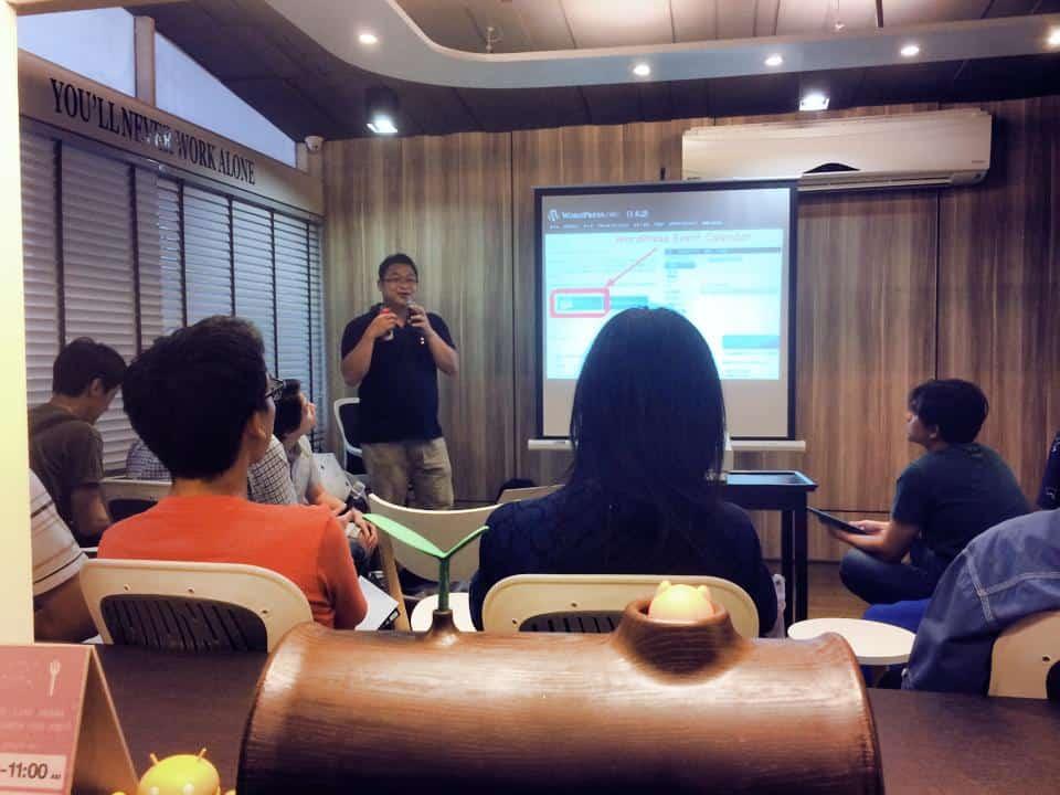 WordPress Meetup Thailand พี่เม่น ทำ Theme WordPress