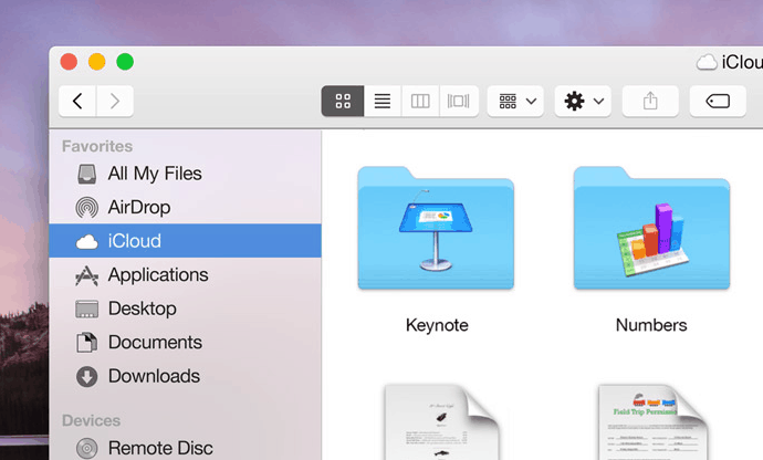 Flatty Design Mac OS Yosemite