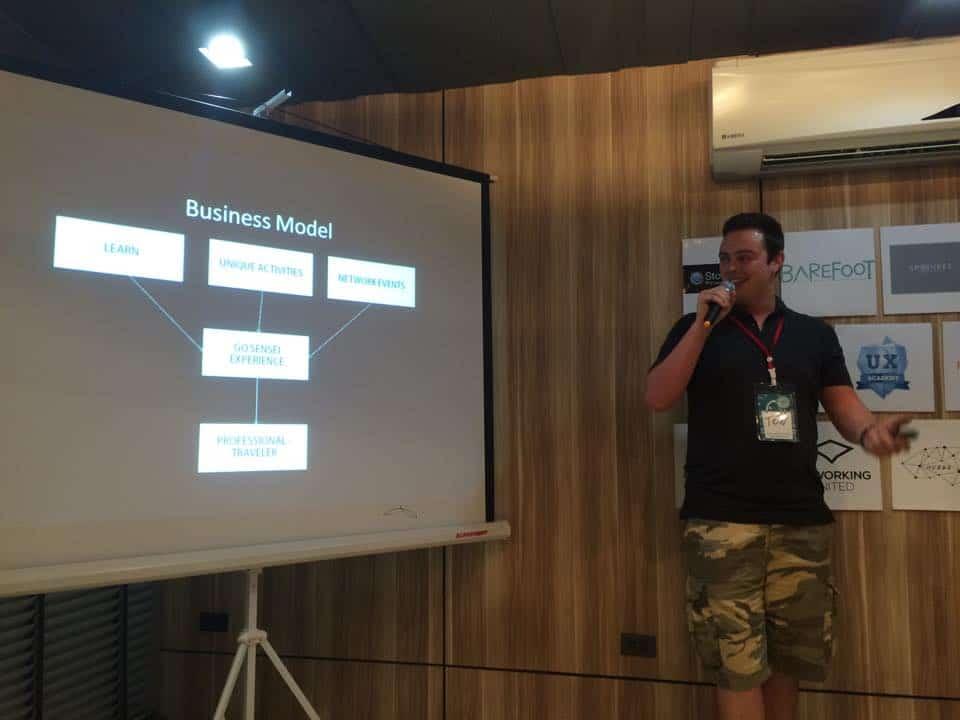 Startup Weekend Gosensei Pitch