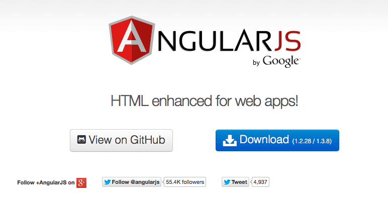 Angular JS Website Official