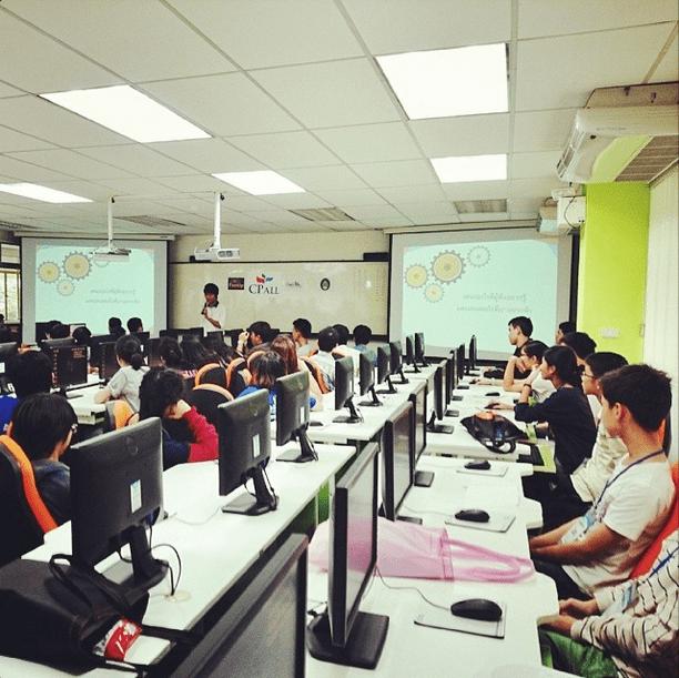 บรรยากาศงาน Junior Webmaster Camp 6