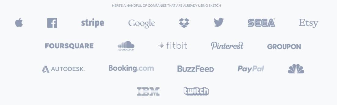 บริษัทในต่างประเทศที่ใช้ Sketch 3
