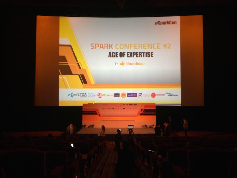 เวทีงาน Spark Conference 2015 อลังการมากครับ
