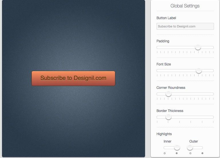 Interface ของ Button Builder ใช้งานได้ง่ายมาก ๆ