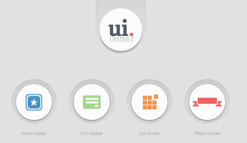 เครื่องมือทั้ง 4 แบบของ UI Live Tools