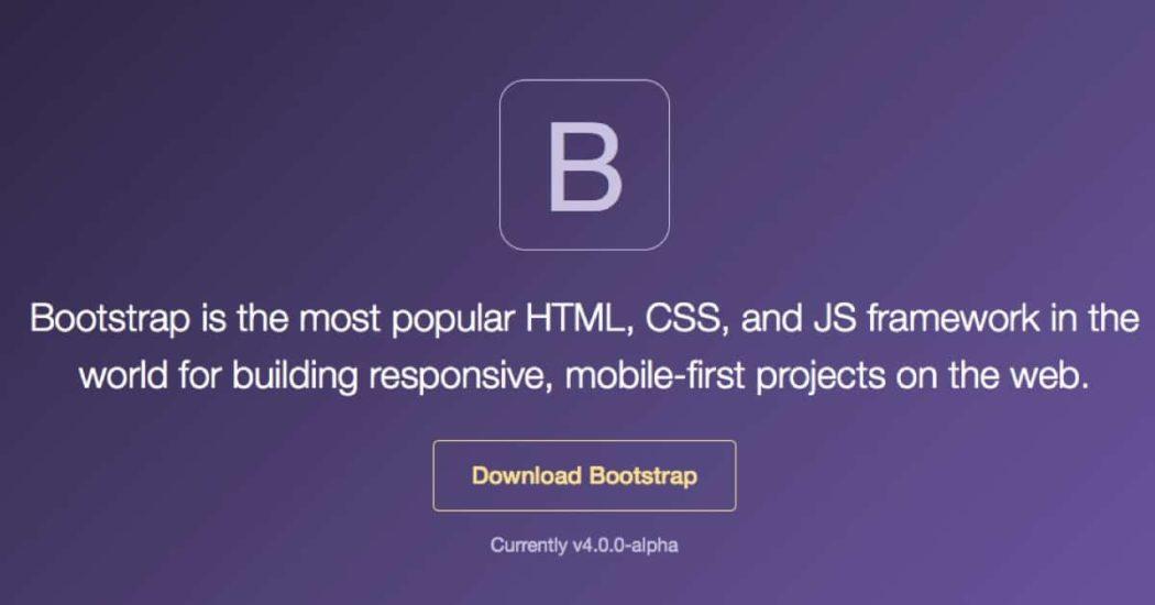 bootstrap-4-alpha