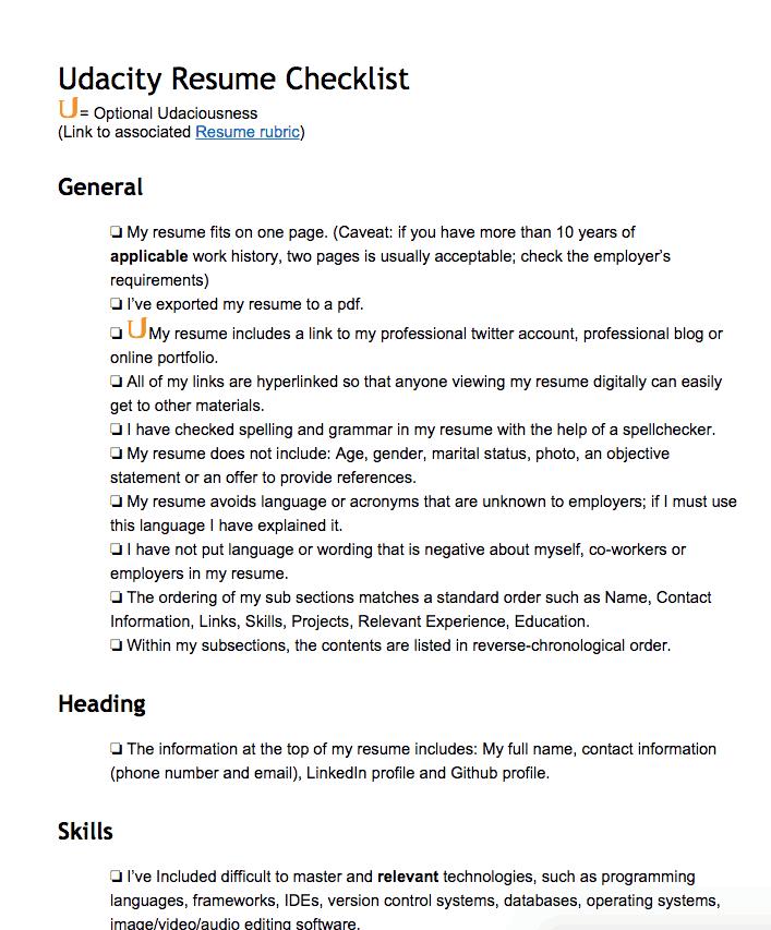 udacity-nanodegree-checklist