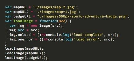 สั่ง load image ทันทีที่เปิด เวลาที่เรา navigate ไปหน้าอื่นๆ จะได้พบรูปที่เสร็จหมดแล้ว