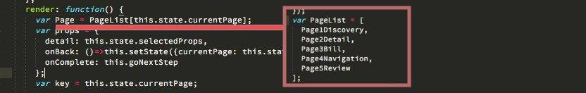 แบ่ง Component ใหญ่ๆ เป็น Page Component แล้วสร้าง Page Transition ด้วย ReactCSSTransitionGroup