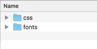 วิธีการใช้ Font Icon ธนาคารไทยในเว็บไซต์
