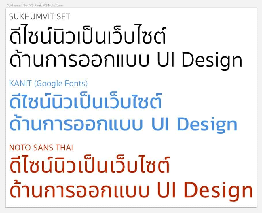 thai-fonts-compare