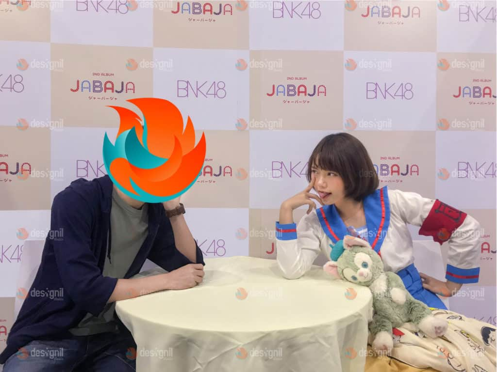 Nutzumi และภาพถ่าย 2 shot กับน้องมิวสิค BNK48