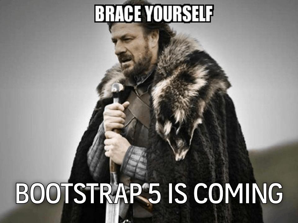 bootstrap5 whats new มีอะไรใหม่บ้างในเวอร์ชั่นใหม่นี้