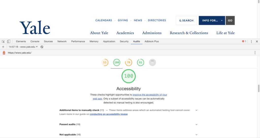accessibility checker browser