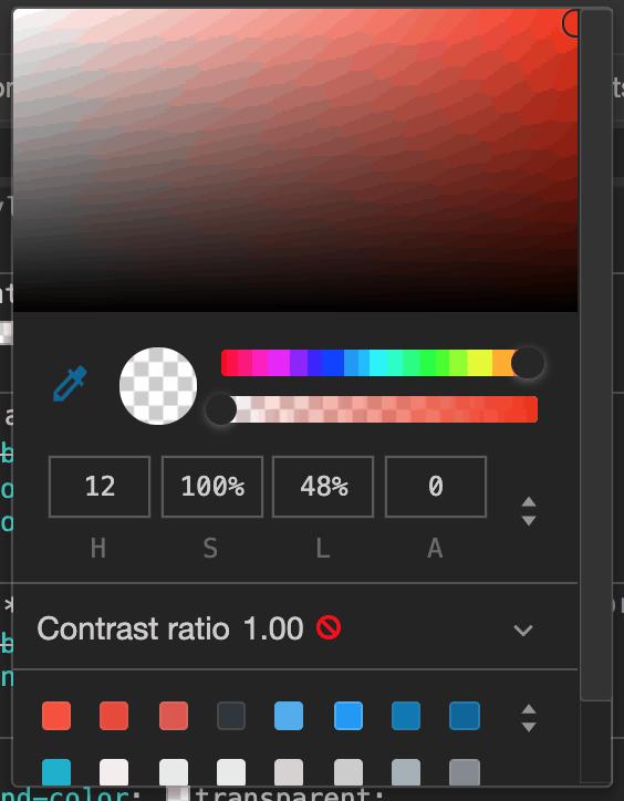 color hsb