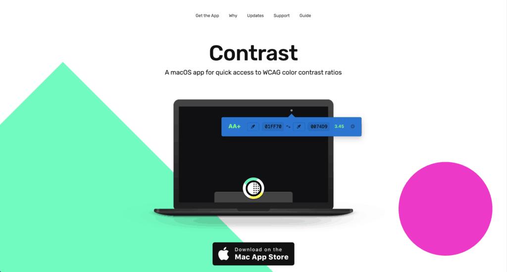 เช็ค Accessibility ด้วย Contast tool - macOs App