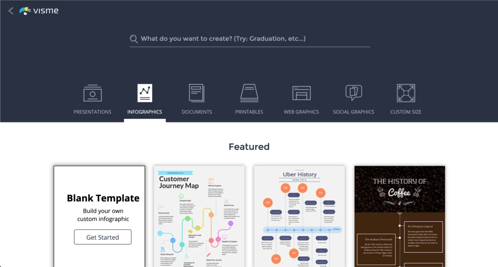 ตัวอย่างการสร้าง Infographic ในเว็บไซต์แบบออนไลน์