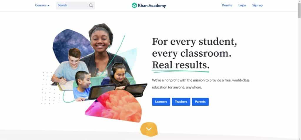 Khan Academy web development