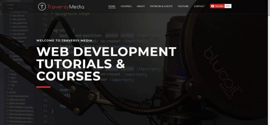 TraversyMedia web development