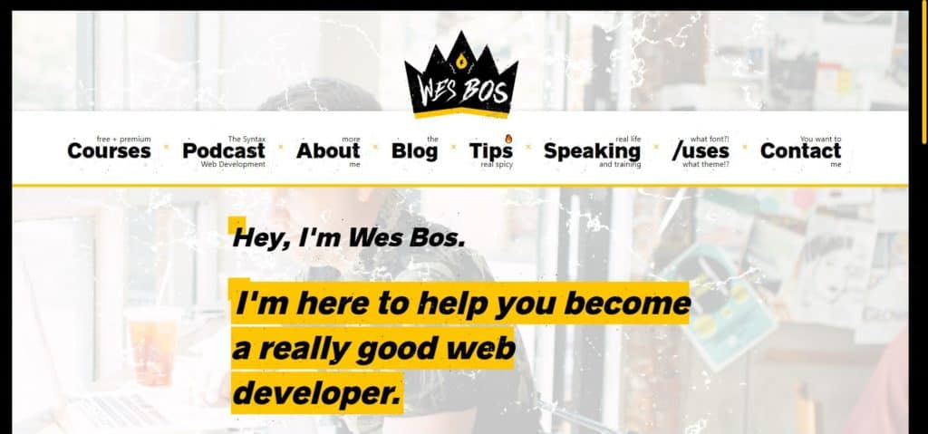 Wes bos web development