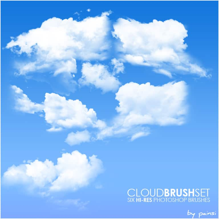 cloud ps brush