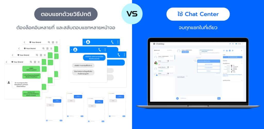 comparison chat multi platforms vs chat center