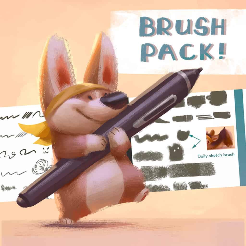 dog brush pack