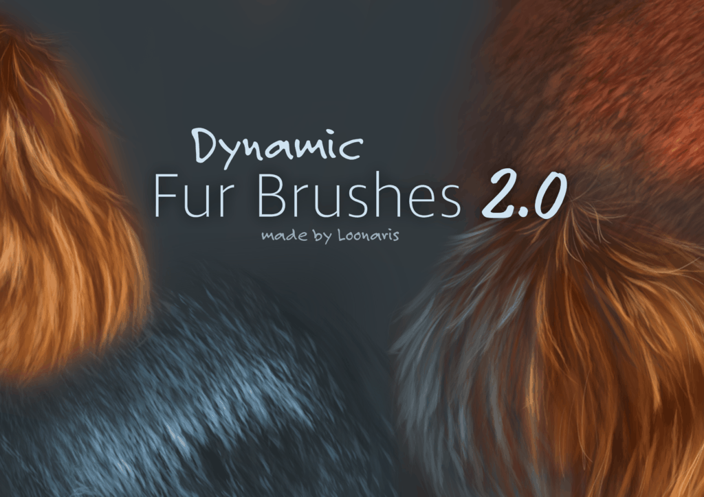 dynamic fur brushes
