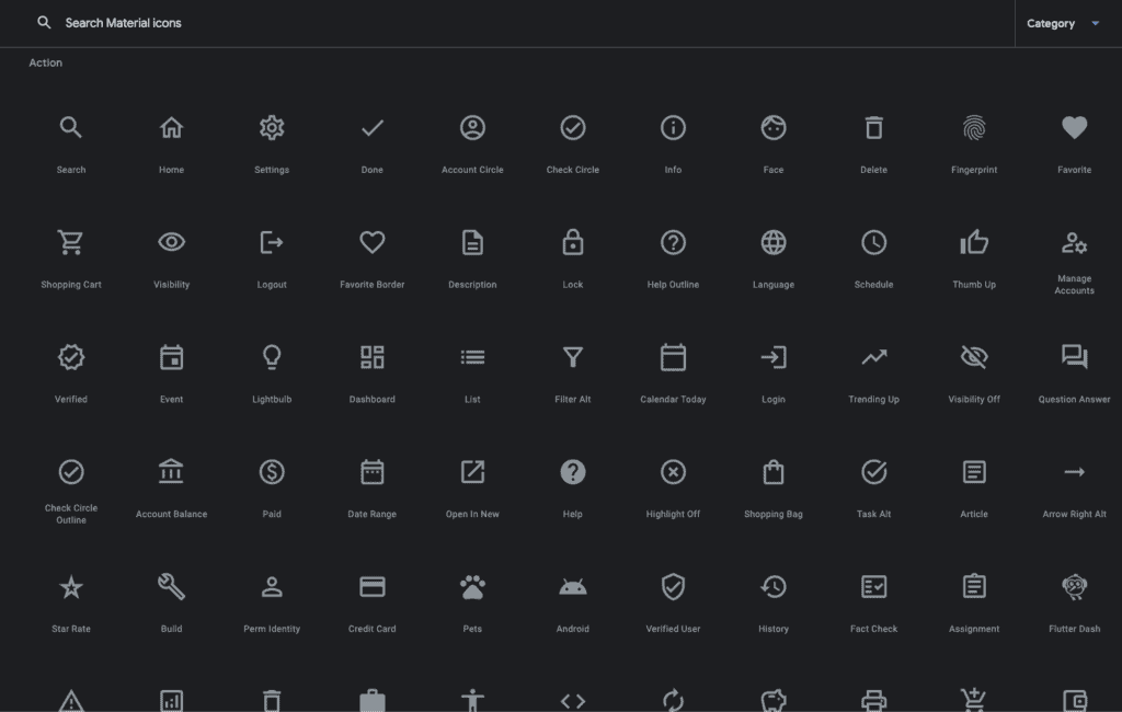 google icons โหลดฟรี