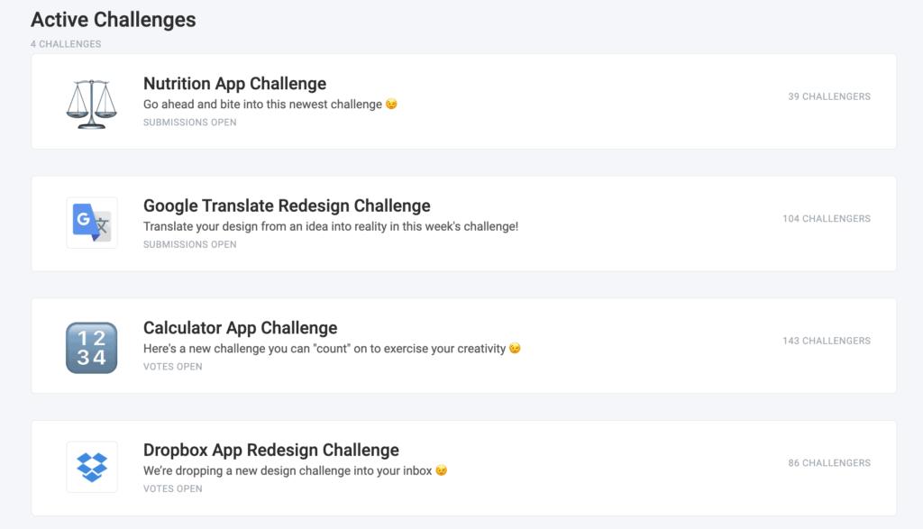 uplabs challenge 2 ฝึก UI UX