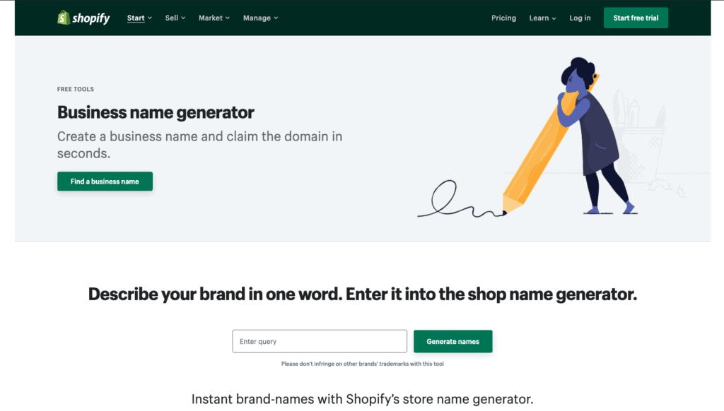 03 shopify ตั้งชื่อร้านเก๋ ๆ ใช้งานง่ายมากครับ