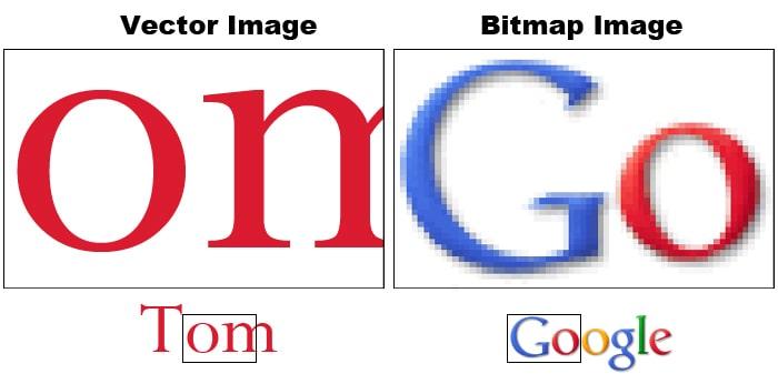 SVG คืออะไร vector vs raster