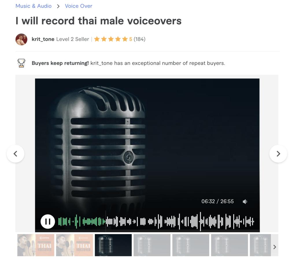 ตัวอย่าง thai voice over จากพี่ Krit_tone เสียงหล่อคุ้นหูจากช่อง Met 107