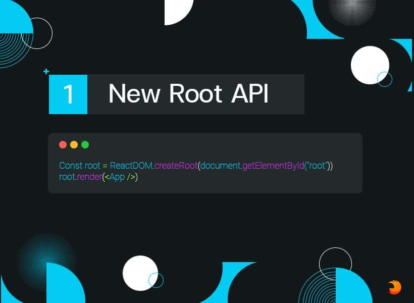 React18 New Root API